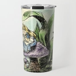 Pouty Alice - Watercolor Travel Mug