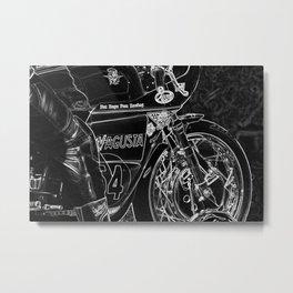 Motorcycle 1 Metal Print