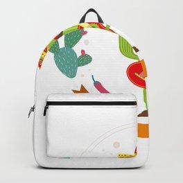Cactus Cinco De Mayo Funny Backpack