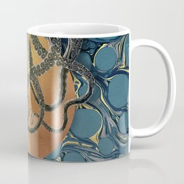 Gold Marble Octopus Coffee Mug