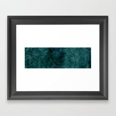 Ice Fibers Framed Art Print