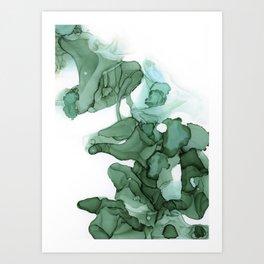 emerald II Art Print