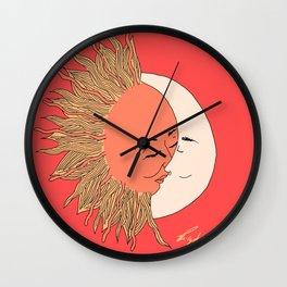 MoonSunKiss Wall Clock