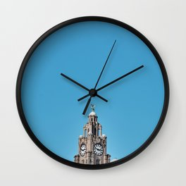 Liverpool Architecture #3 - Blue Wall Clock