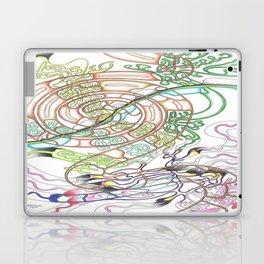 Coffee swirl Laptop & iPad Skin