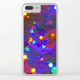 Mood Lighting Clear iPhone Case