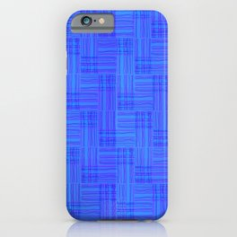 Interpretive Weaving (Nightfall) iPhone Case
