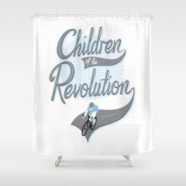 Children Of The Revolution  Shower Curtain