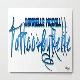 TattoosByRelle(Logo) Metal Print