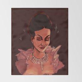 the good queen Throw Blanket