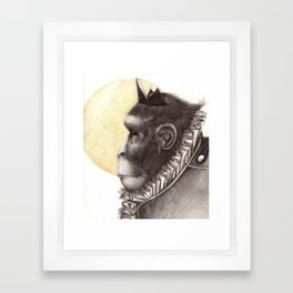 """They Called Me """"King"""" Framed Art Print"""