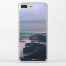 Sea Dream Clear iPhone Case
