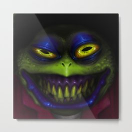 Stinky Toad Metal Print