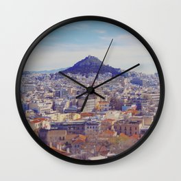Above the City Wall Clock