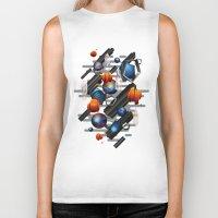 minerals Biker Tanks featuring Geo by Tomas Brechler