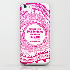 My List – Pink Ombré Ink iPhone 5c Slim Case