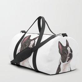 My Baby, Boston Terrier Duffle Bag