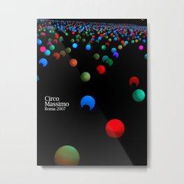 lights - Circo Massimo - Notte Bianca Metal Print