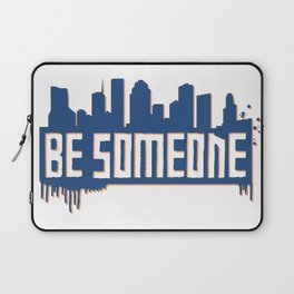 Be Someone - HTX - Navy Laptop Sleeve