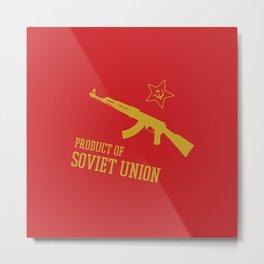 AK-47 (Product of SOVIET UNION) Metal Print