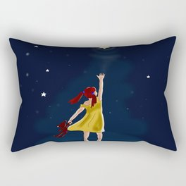 Reaching for the stars Rectangular Pillow