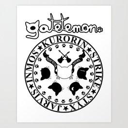 Gatetemon T shirt Art Print