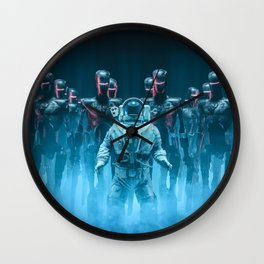 Caught in the Act Wall Clock