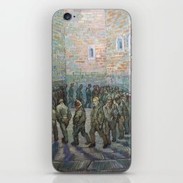 The Round of the Prisoners (after Doré) - Van Gogh iPhone Skin