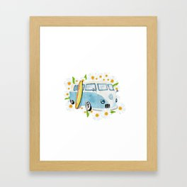Retro vibe Framed Art Print