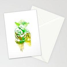 Yoda Print Stationery Cards