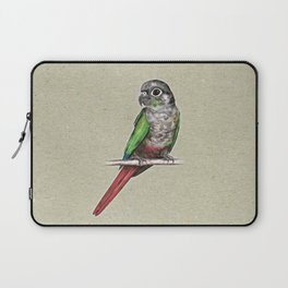 Green-cheeked conure Laptop Sleeve