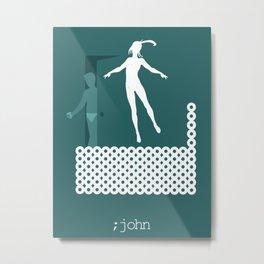 iamamiwhoami; john Metal Print