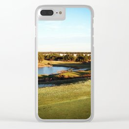 A Golfer's Paradise Clear iPhone Case