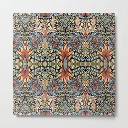 """William Morris """"Snakeshead"""" Metal Print"""