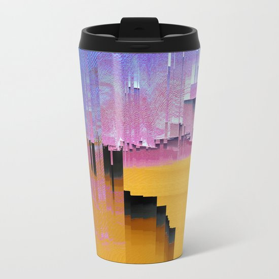 Beautifully Broken Metal Travel Mug