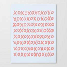 Tic Tac Toe (XOXO) Leinwanddruck