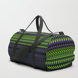 Apple Grape Rag Weave by Chris Sparks Duffle Bag