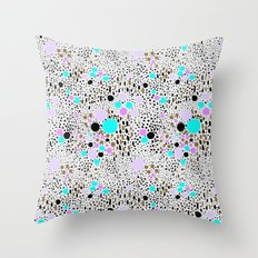Confetti for my mind Throw Pillow