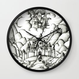 Pilgrimage to Santiago Wall Clock