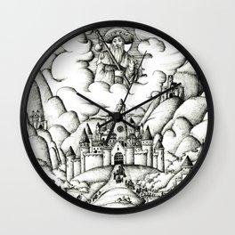 Pilgrimage to Santiago Wall Clock