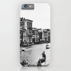 Along the Grand Canal b&w iPhone 6s Slim Case