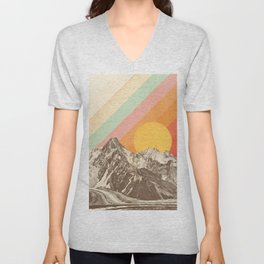 Mountainscape 1 Unisex V-Neck