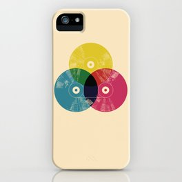 Music is the colors of life iPhone Case