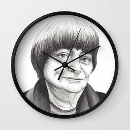 Agnes Varda Wall Clock