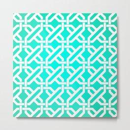 Pattern 4C Metal Print