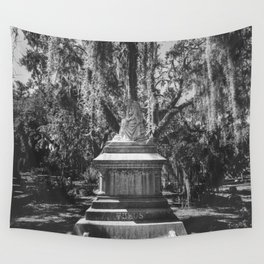 Bonaventure Cemetery Statue Wall Tapestry