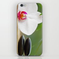 relax iPhone & iPod Skins featuring Relax by Tanja Riedel