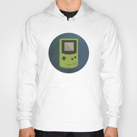 gameboy Hoodies featuring GameBoy by Beardy Graphics
