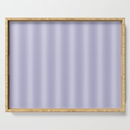 Frosted Lilac Stripes Serving Tray