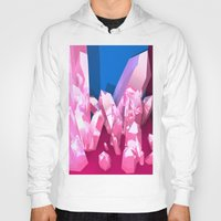 crystals Hoodies featuring Crystals by Katrina Zenshin